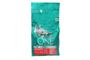Корм Purina One Sterilcat з лососем та пшеницею 1,5кг х6