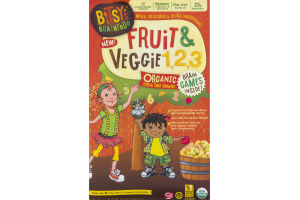 Bitsy's Brainfood Organic Cereal Fruit & Veggie 1,2,3