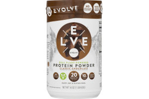 Evolve Real Plant-Powered Protein Powder Classic Chocolate