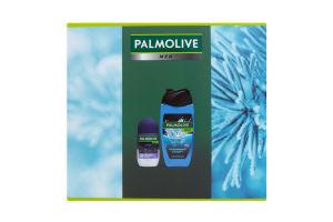Набор подарочный Дезодорант-антиперспирант+Гель для душа 3в1 Спорт Palmolive Men 1шт