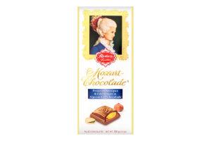 Шоколад молочний з марципановою начинкою Mozart Reber к/у 100г