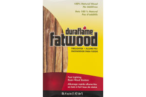 Duraflame Fatwood Firelighter