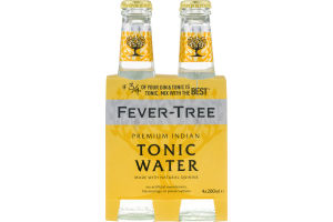 Fever-Tree Premium Indian Tonic Water - 4 CT