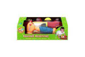 Игрушка развивающая для детей от 3лет №599 Веселый молоточек Mommy Love 1шт