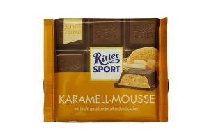 Шоколад Ritter Sport Karamell-mousse 100г x12