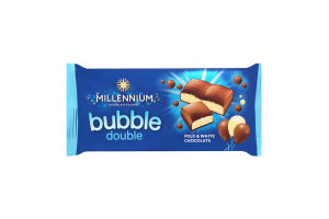 Шоколад Millennium bubble double 70г х20