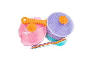 Набір посуду для дітей від 12міс №39142 Ромашка Tigres 10ел