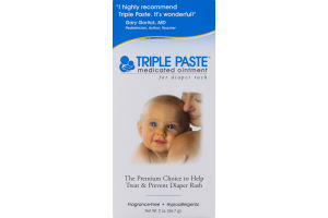 Triple Paste Medicated Ointment for Diaper Rash