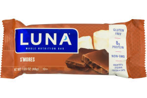 Luna Whole Nutrition Bar S'mores