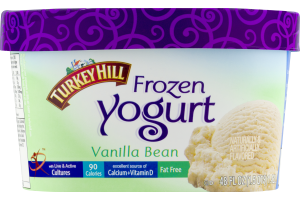 Turkey Hill Frozen Yogurt Vanilla Bean