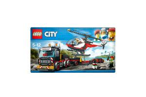 LEGO® City Great Vehicles Перевозчик вертолета 60183