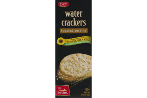 Dare Water Crackers Toasted Sesame