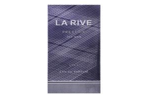LA RIVE PRESTIGE MAN GREY Чоловіча туалетна вода, 75 мл