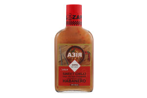 Соус остро-сладкий с добавлением перца Habanero Sweet Chilli Азия Zapal с/бут 200мл
