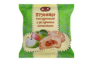 Пряники глазуровані з яблучною начинкою БКК м/у 190г