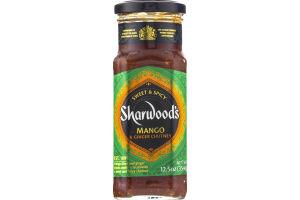 Sharwood's Mango & Ginger Chutney Sweet & Spicy