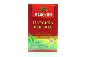 Чай царская корона крупнолистовой Майский 85г