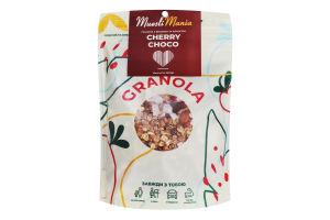 Сніданки сухі Гранола з вишнею та кокосом Cherry-Choco Muesli Mania д/п 350г