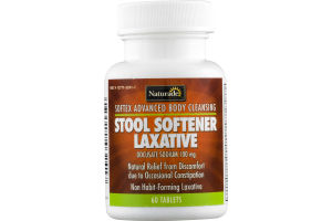 Naturade Stool Softener Laxative - 60 CT