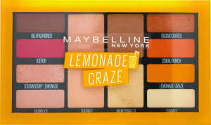 Палетка теней на 12 оттенков Lemonade Craze Maybelline New York 12г