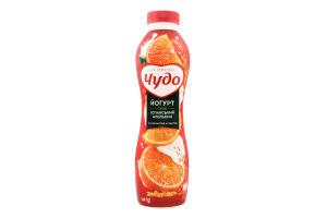 Йогурт 2.5% Испанский апельсин Чудо п/бут 540г