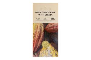 Шоколад 54% чорний зі стевією Millennium к/у 100г