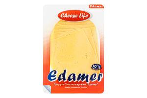 Продукт белково-жировой 45% Эдамер Cheese Life лоток 0.15кг