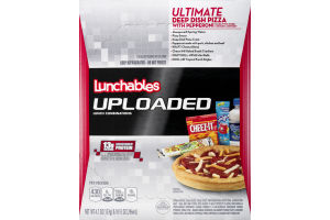 Lunchables Uploaded Ultimate Deep Dish Pizza With Pepperoni