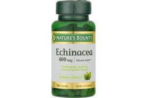 Nature's Bounty Echinacea 400 MG - 100 CT
