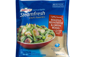 Birds Eye Steamfresh Chef's Favorites Roasted Red Potatoes & Green Beans Lightly Sauced