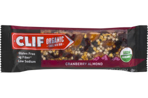 Clif Organic Trail Mix Bar Cranberry Almond