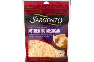 Sargento Artisan Blends Authentic Mexican