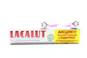 Зубная паста подросткам 8+ Lacalut 50мл