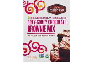 Madhava Ooey-Gooey Chocolate Brownix Mix