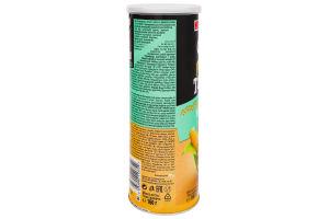 Чипсы кукурузные со вкусом сметаны Tortilla Pringles к/у 160г