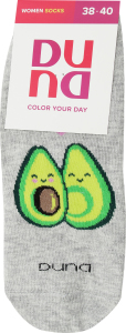 Шкарпетки жіночі 8018р.23-25 світло-сірі дюна арт.4627245