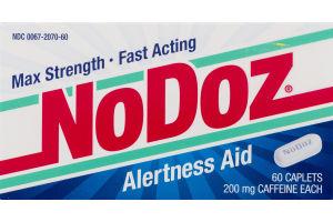 NoDoz Alertness Aid Caplets - 60 CT