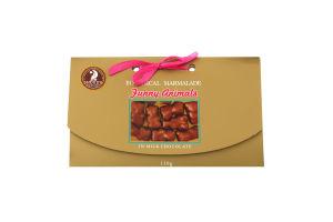 Мармелад в молочному шоколаді Funny Animals Shoud'e к/у 130г