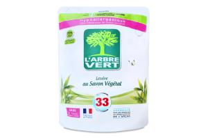 Средство жидкое для стирки Растительное мыло L'arbre Vert 1.5л