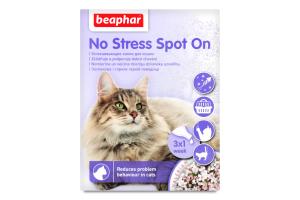 Каплі для котів No Stress Spot On Beaphar 3х0.4мл