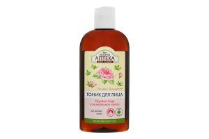 ЗА Тонік для зрілої шкіри Розова вода і миндал масло 200мл