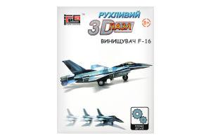 Заводной 3D-пазл Hope Winning Истребитель F-16