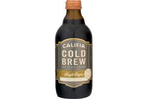 Califia Cold Brew All Black Coffee Single Origin