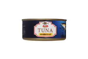 Тунець салатний в олії Alba Food з/б 150г