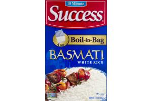Success Boil-In-Bag Rice Basmati White Rice