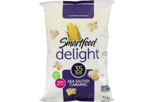 Smartfood delight Air Popped Popcorn Sea Salted Caramel