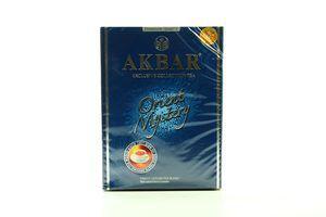 Чай черный и зеленый крупнолистовой с розой и жасмином Oriental Mystery Akbar к/у 100г