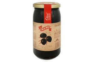 Маслини Diva Oliva чорні без кісточки 370мл x12