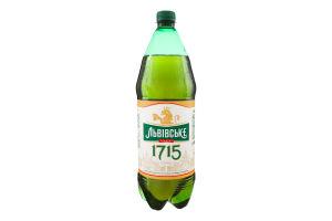 Пиво 1.45л 4.7% cвітле пастеризоване 1715 Львівське п/пл