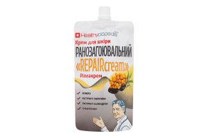 Крем для кожи ранозаживляющий Repaircream Healthyclopedia 100мл